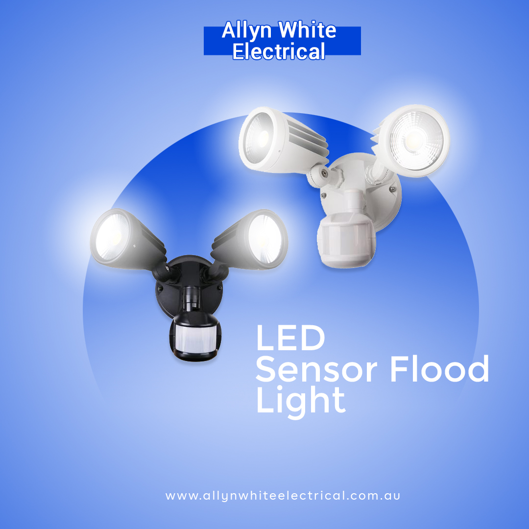Protect your home or business with Security Sensor lights. Contact Allyn White Electrical for Sensor and Security Light Installation in Brisbane.