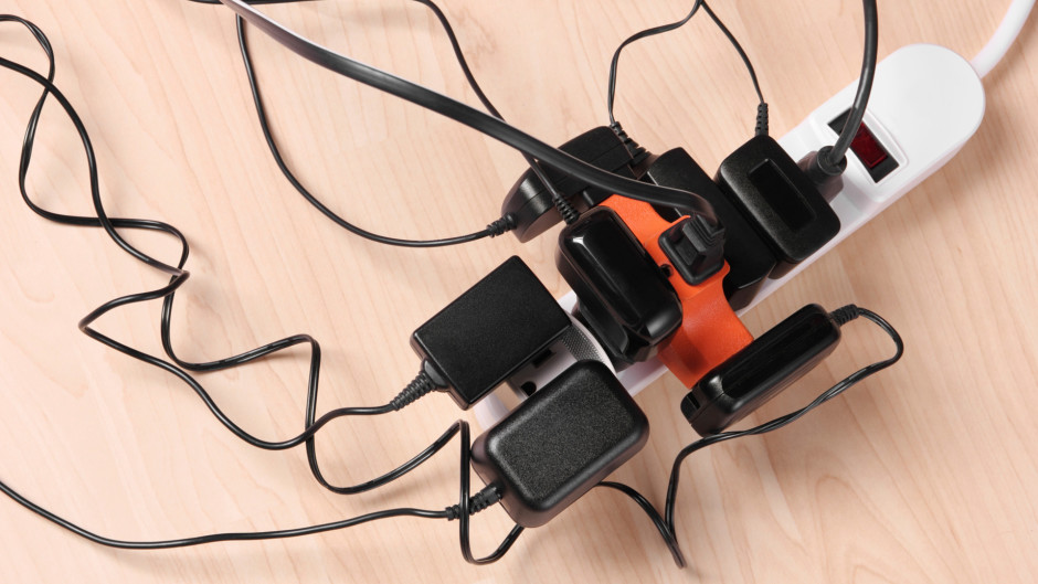 Powerpoints overload. Contact Allyn White Electrical, the best electrician in Brisbane, today!