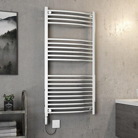 installing a bathroom heated towel rail in bardon and brisbane