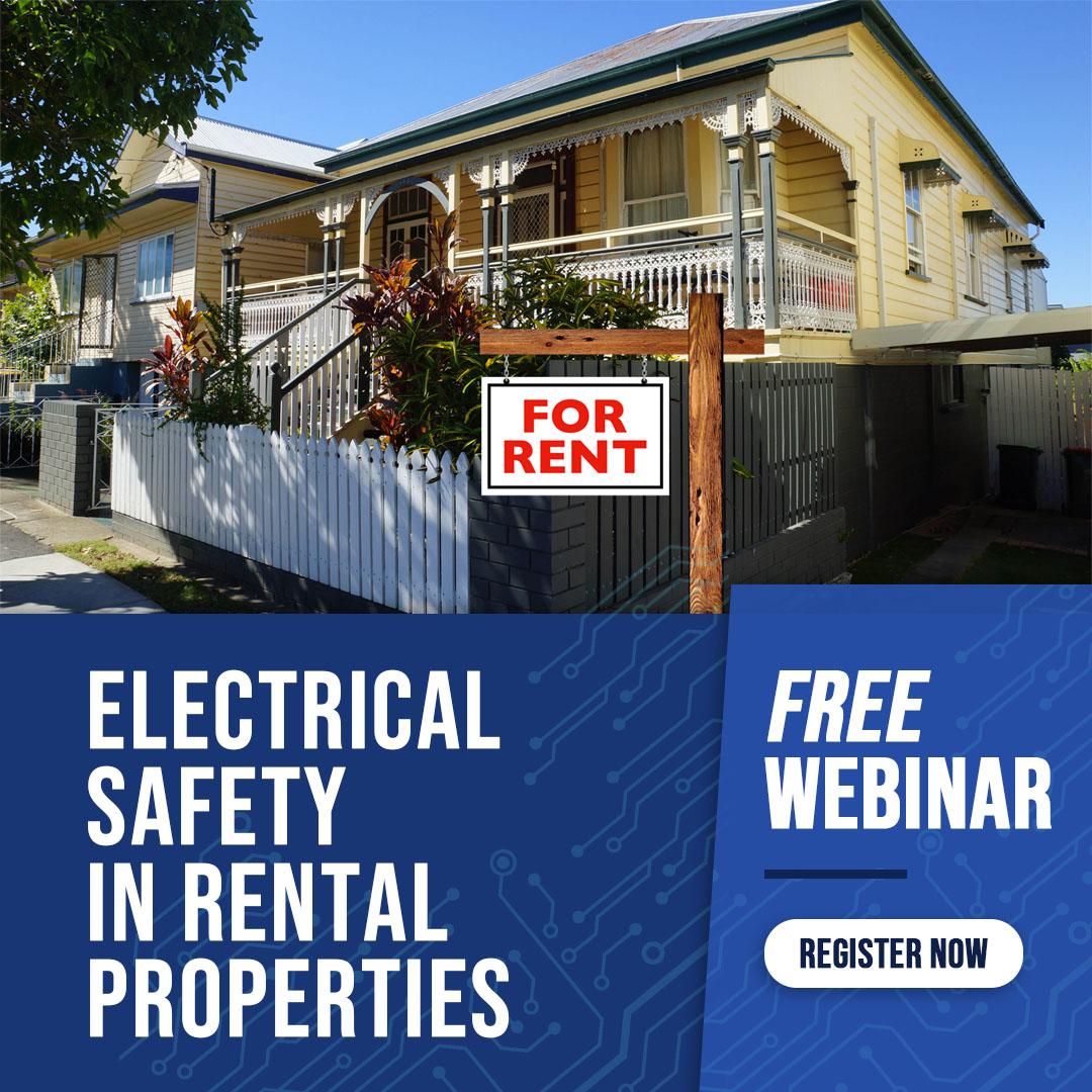 Free Webinar: Electrical Safety In Rental Properties
